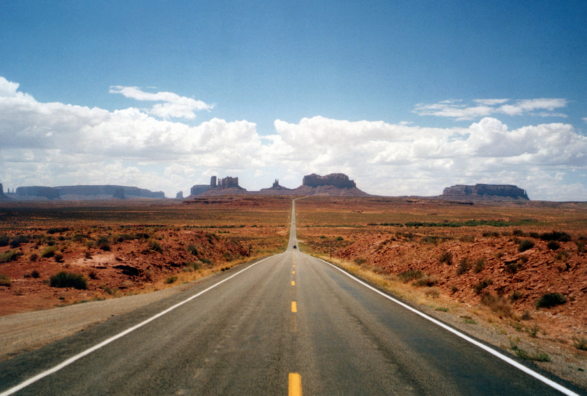 America Strada panoramica