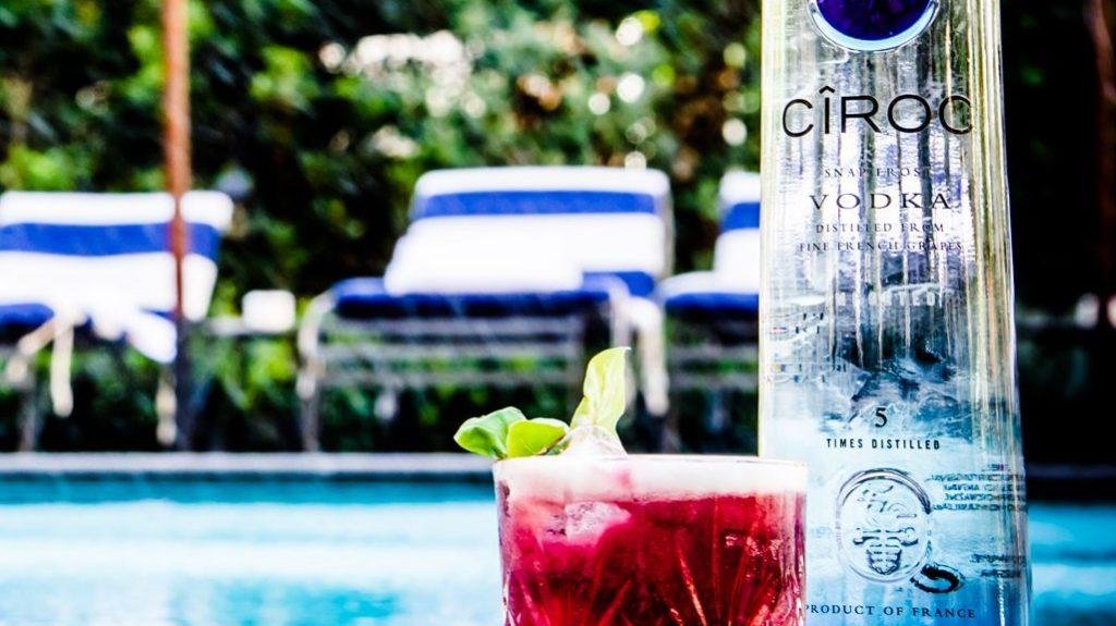 cocktail con vodka Ciroc