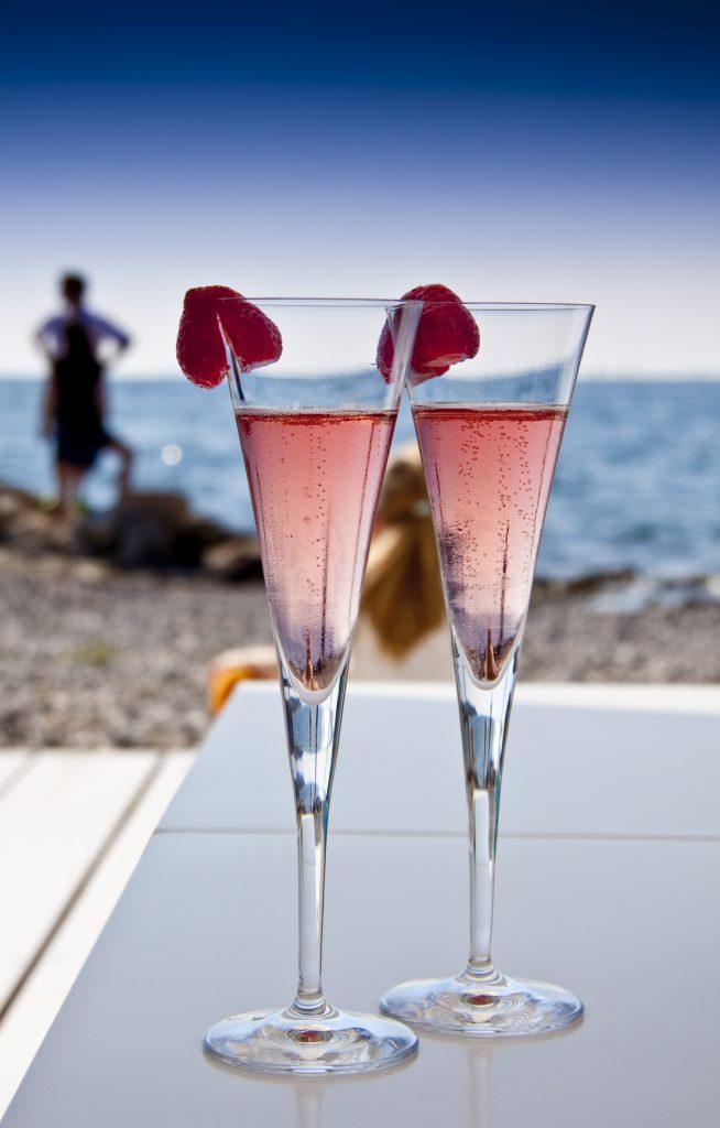 Martini in spiaggia