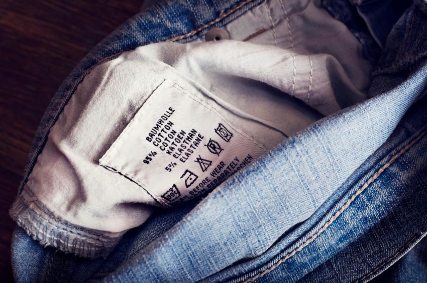 Etichetta dei jeans