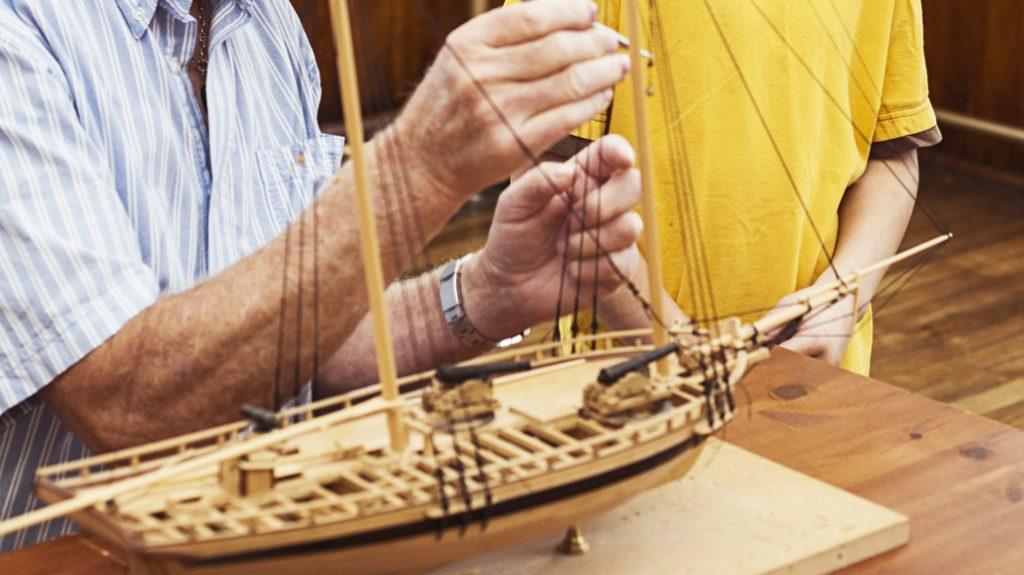 Modellismo navale, passione oltre il gioco