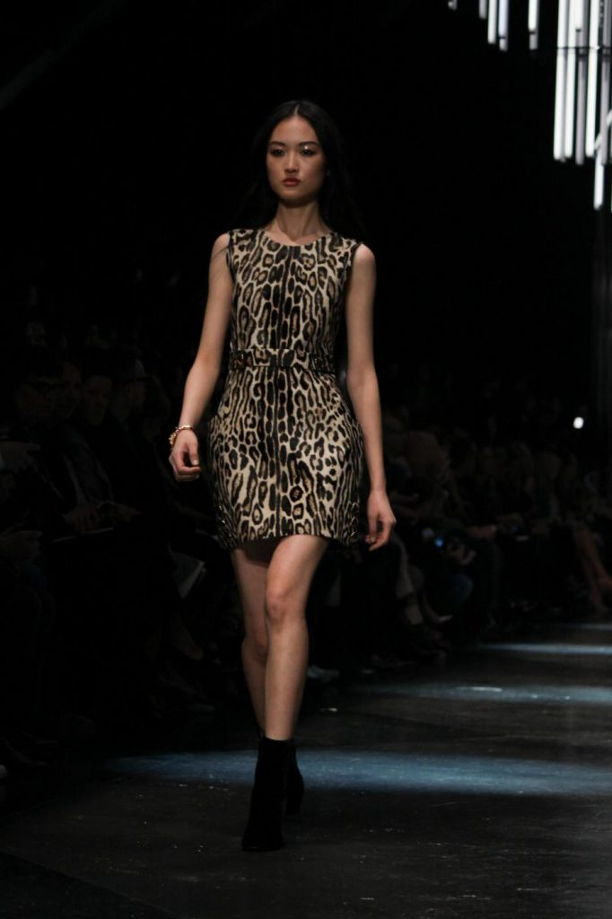 Milano Fashion Week - Sfilata Roberto Cavalli. Foto LaPresse
