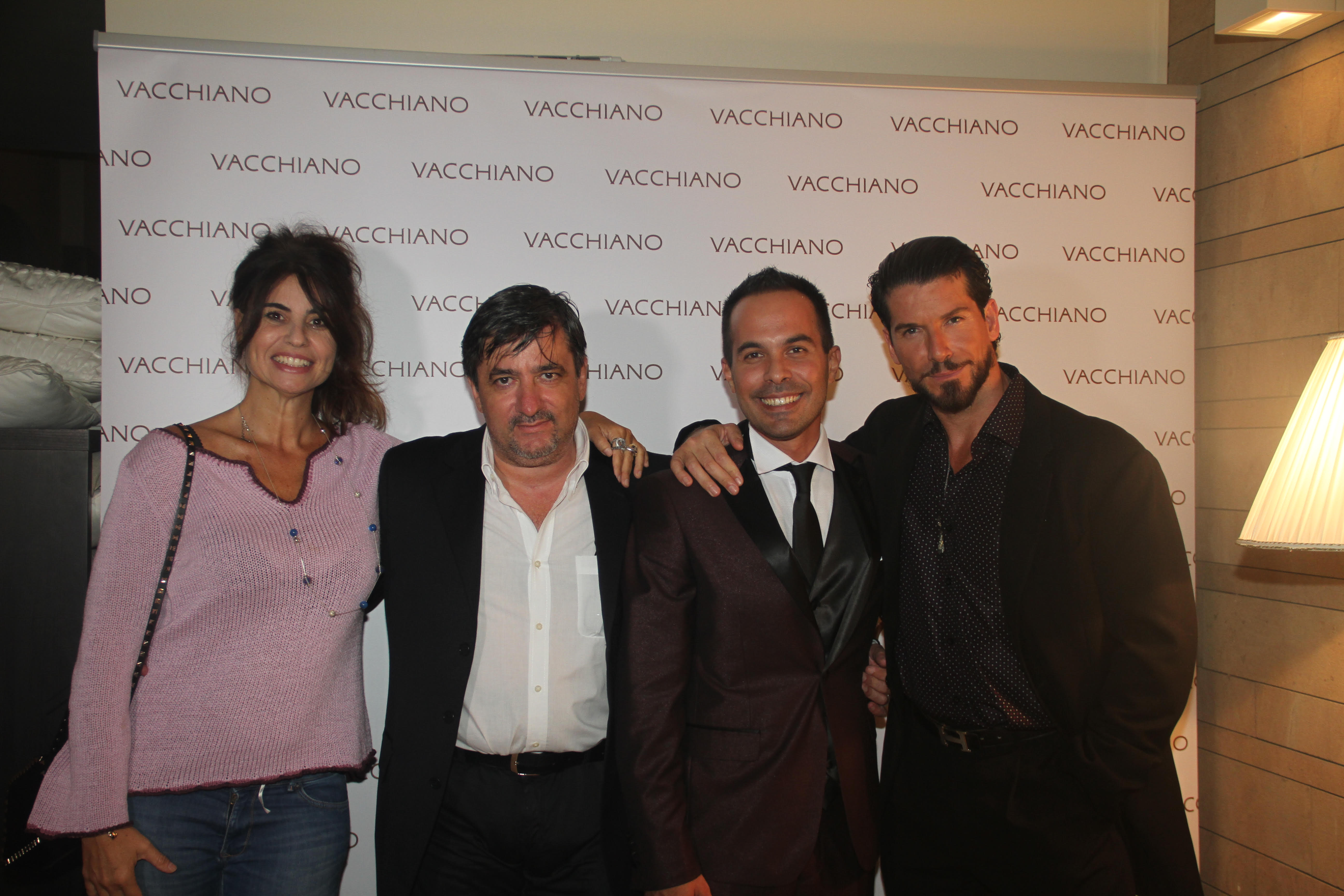 Francesca Nunzi, Angelo Frezza, Generoso Vacchiano, Jack Queralt