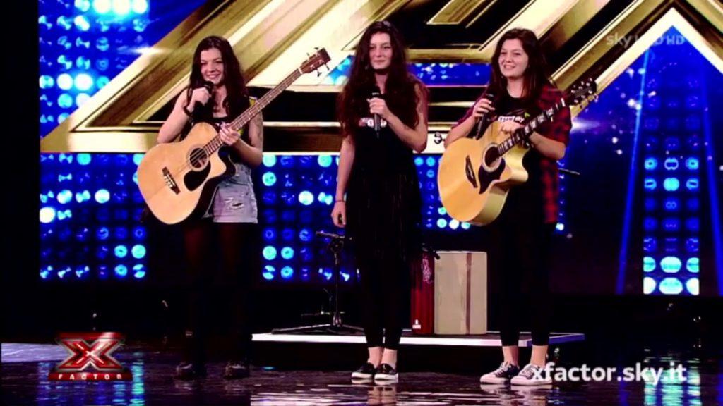 Le sorelle Orlandi a X Factor 10