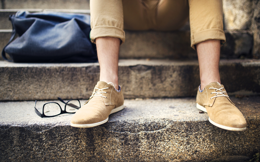 Uomo senza calze? Sì, ma solo d'estate