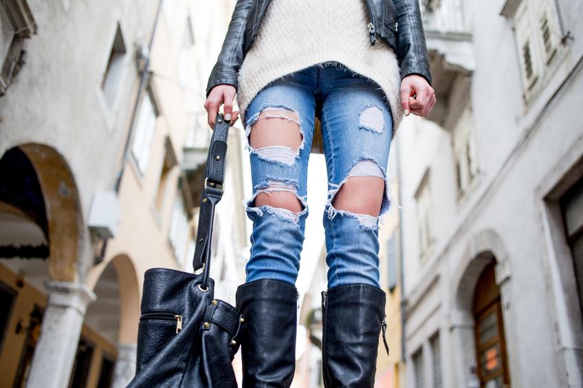 Jeans rotti