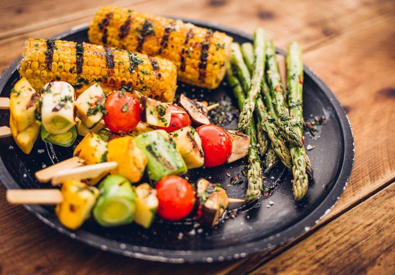 10 idee per un BBQ vegetariano