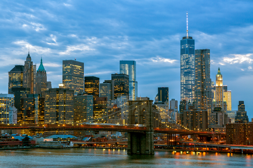Tutta nuova Lower Manhattan