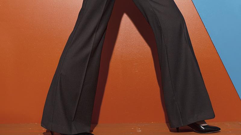 Pantalone largo, il grande ritorno in scena