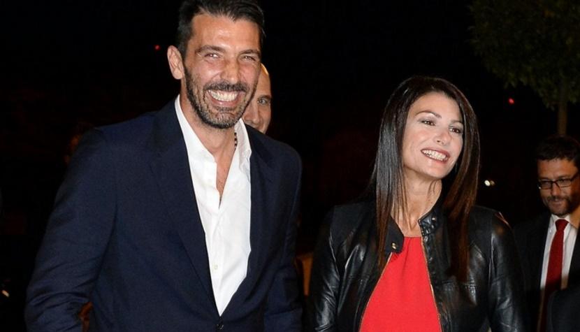 Gianluigi Buffon e Ilaria D'Amico