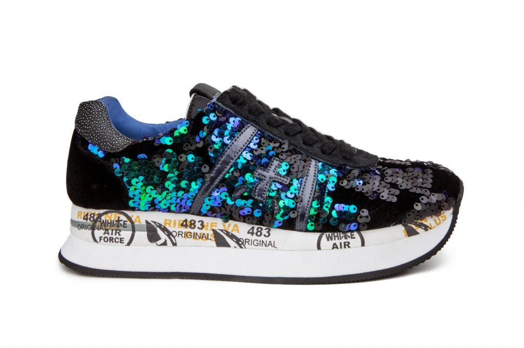 La classica sneaker rivisitata da Premiata: il modello Conny per lei