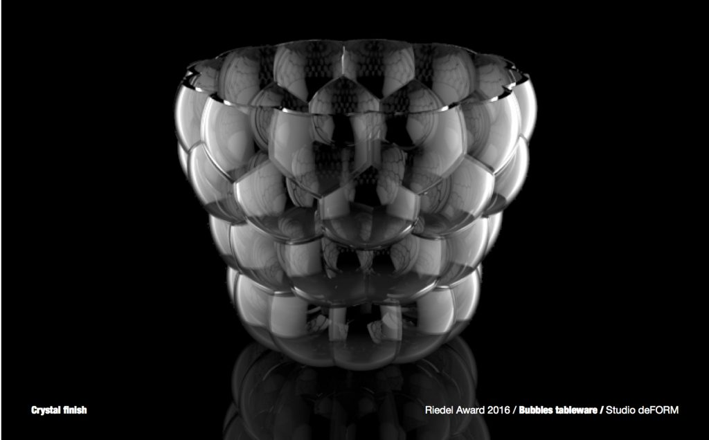 Le nuove forme del vetro dal Riedel Award