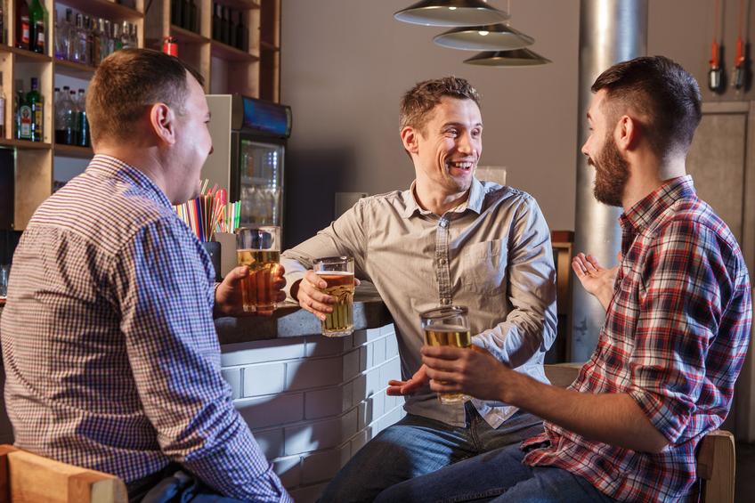 Il bar: punto di incontro tra amici