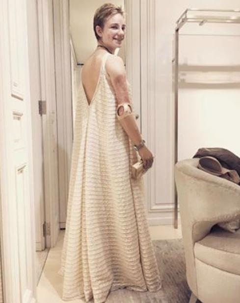 Beatrice Vio, un'azzurra in Dior alla Casa Bianca