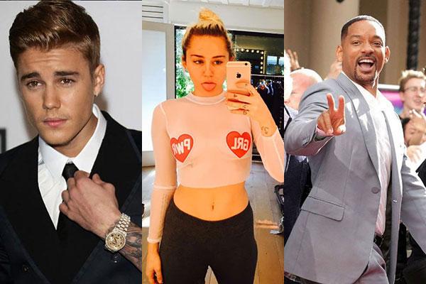 Le dieci celebrities da evitare online