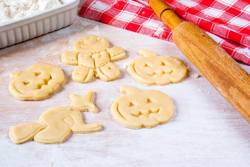 Preparazione dei biscotti