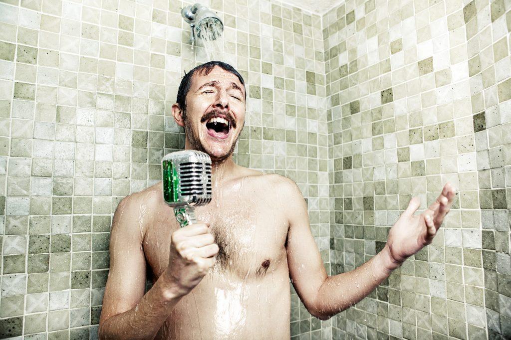 Le idee? Nascono sotto la doccia