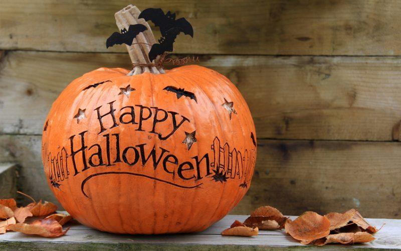 Foto Di Halloween.Lo Spavento E Adesivo Tag A Tema Halloween Www Stile It