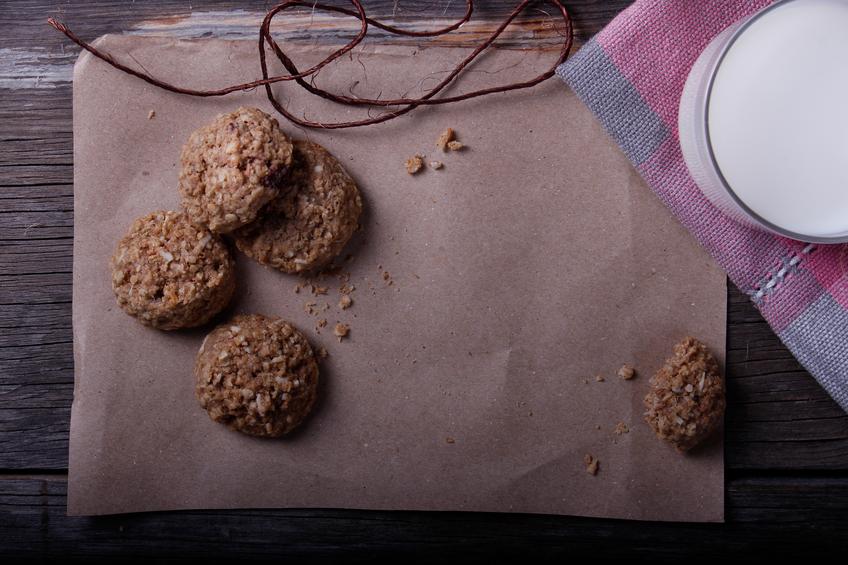 Biscotti vegan alle castagne: dolcezza d'autunno
