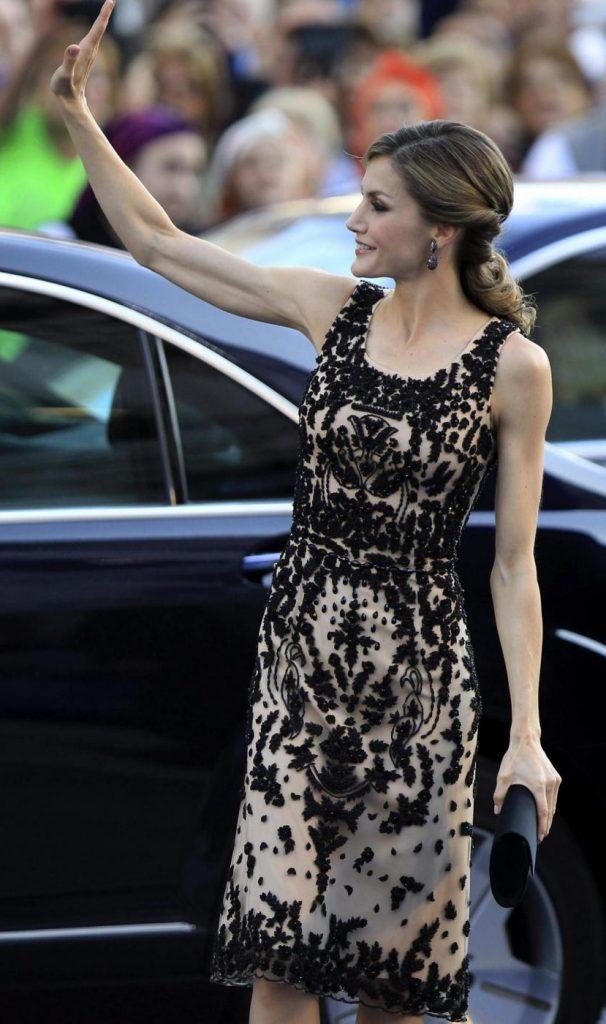 La regina di Spagna Letizia Ortiz. Foto LaPresse