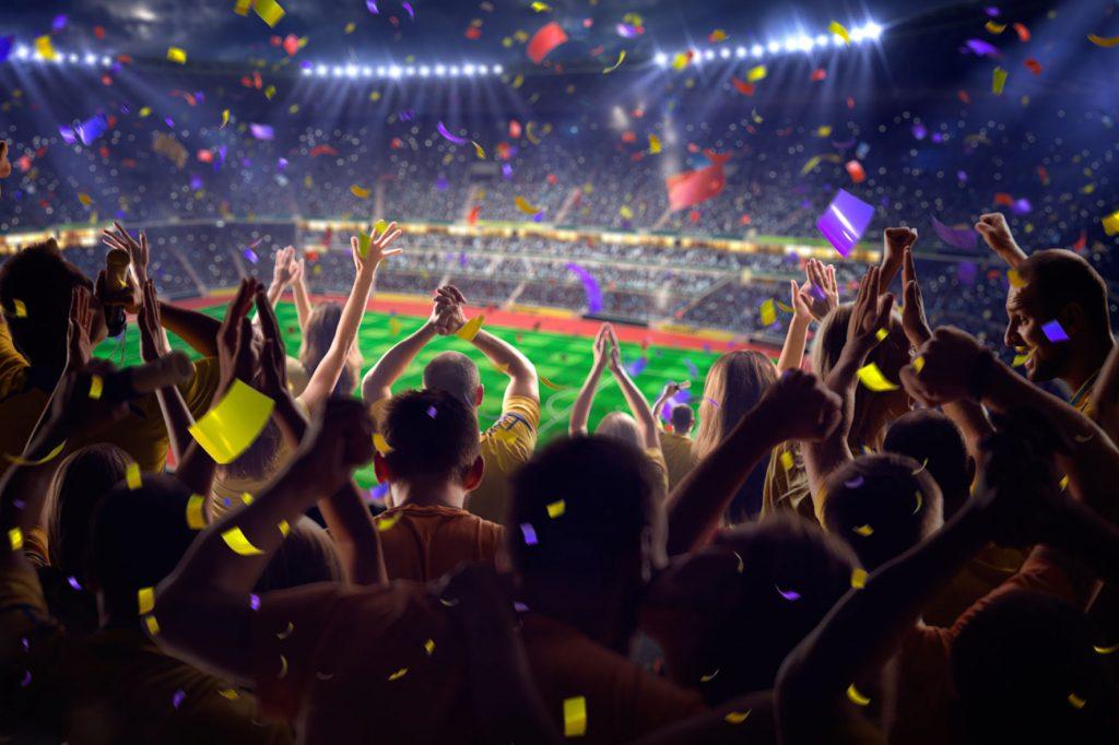 Tifosi allo stadio