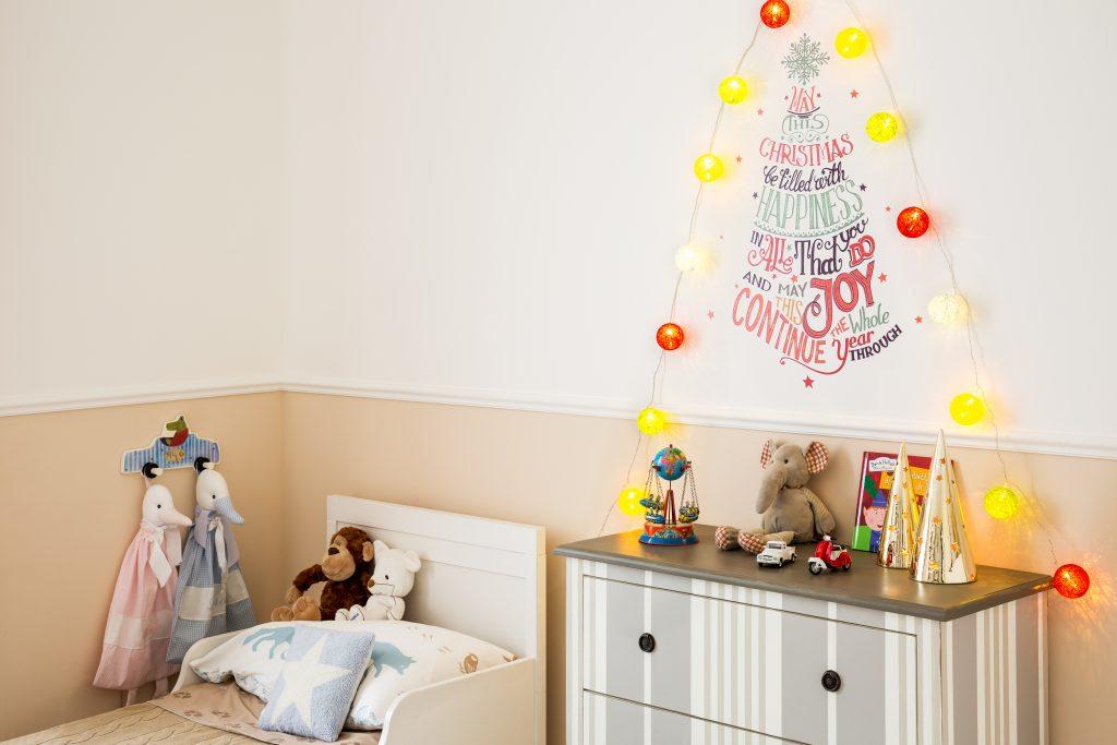Addobbi natalizi - albero stickers. Dalani