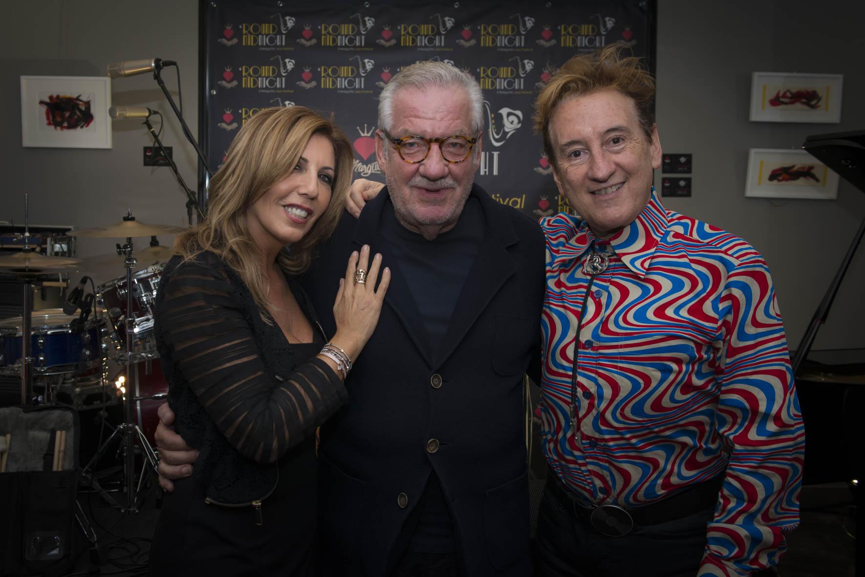 Tina Vannini, Giorgio Conte e Dario Salvatori