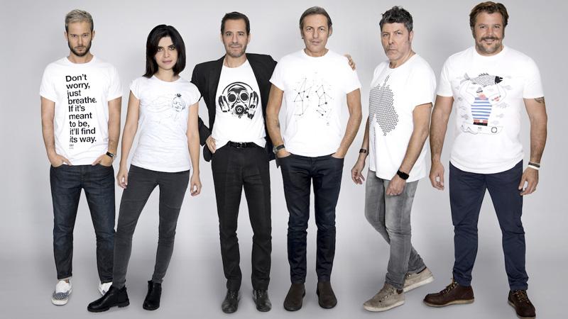 Moda e arte T-shirt #JustBreathe