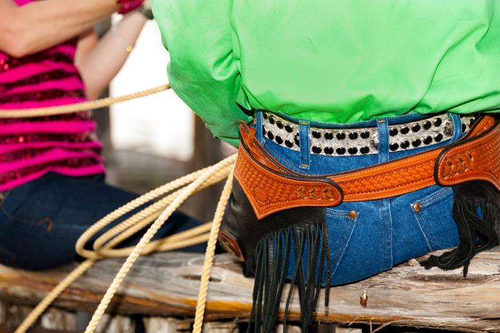 Cintura da cowboy