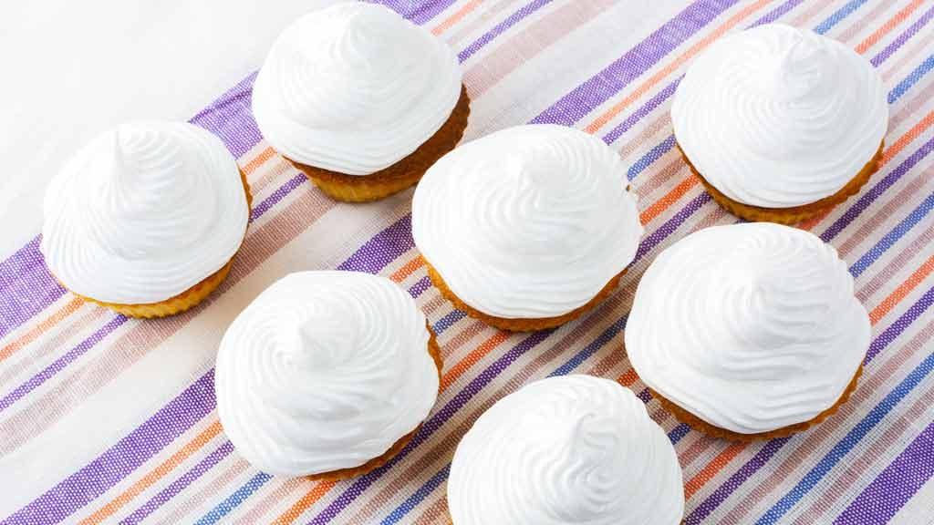 Cupcake di meringa