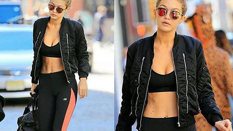 Gigi Hadid versione sporty chic