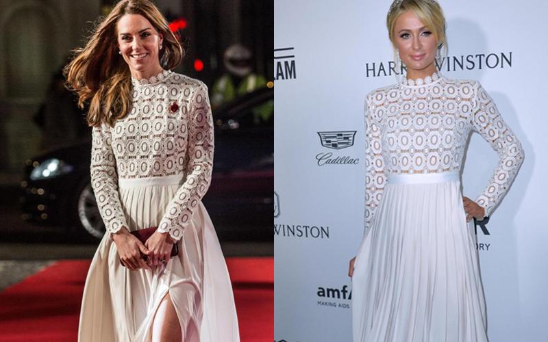 Kate Middleton e Paris Hilton