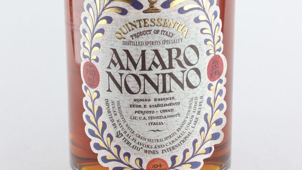Amaro Nonino drink feste