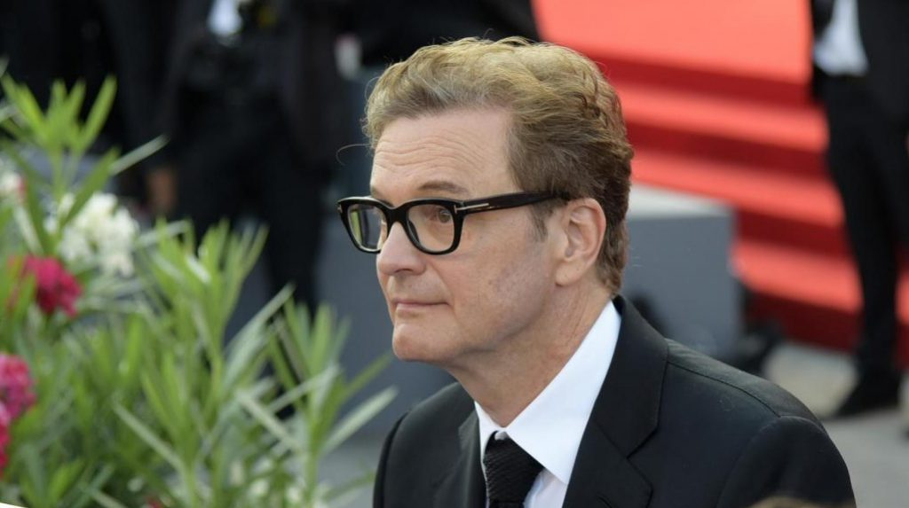 Colin Firth al Festival di Venezia