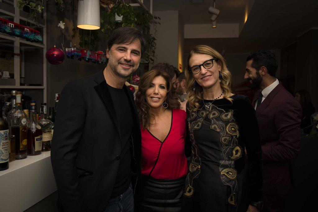 Beppe Convertini, Tina Vannini e Francesca Barbi Marinetti
