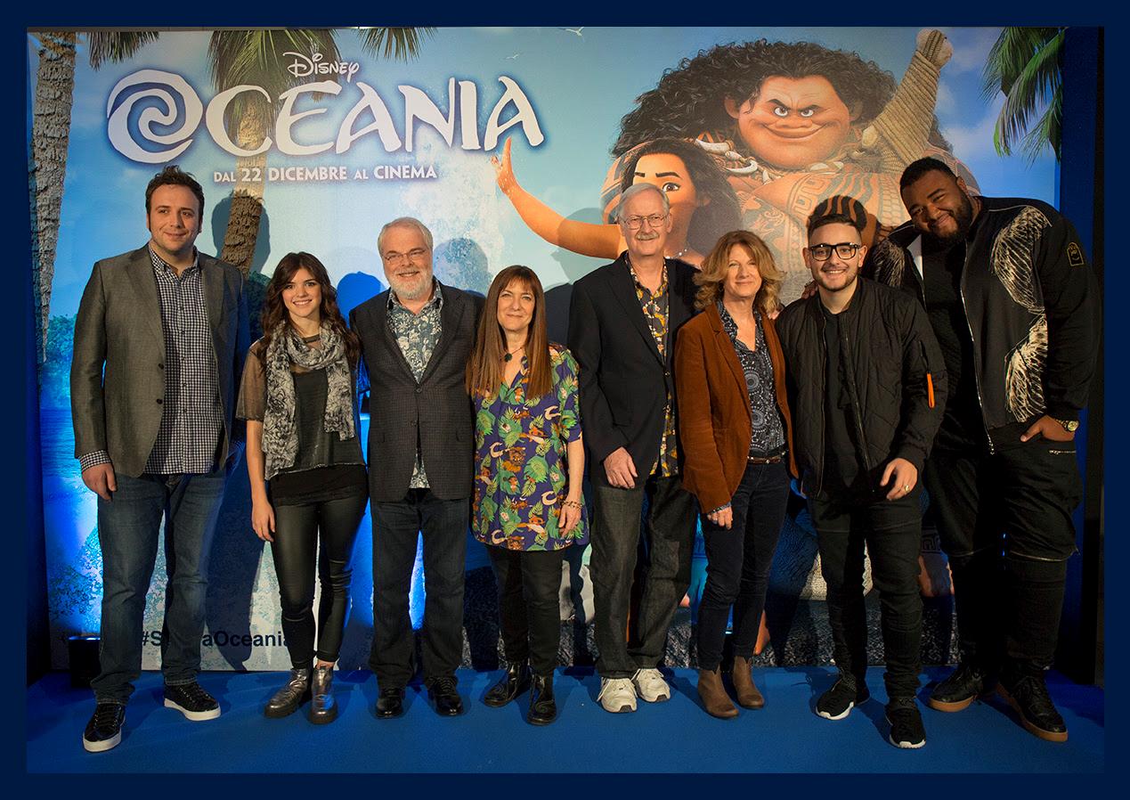 Cast di Oceania