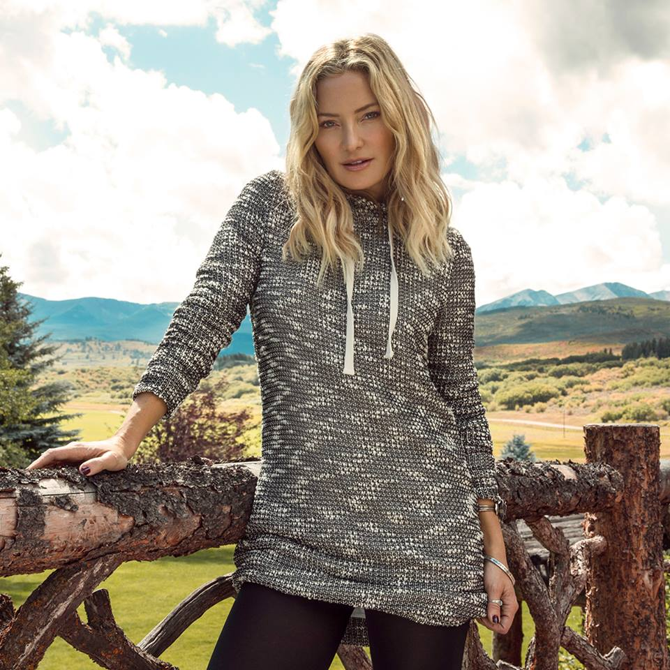 L'abbigliamento sportivo di Kate Hudson
