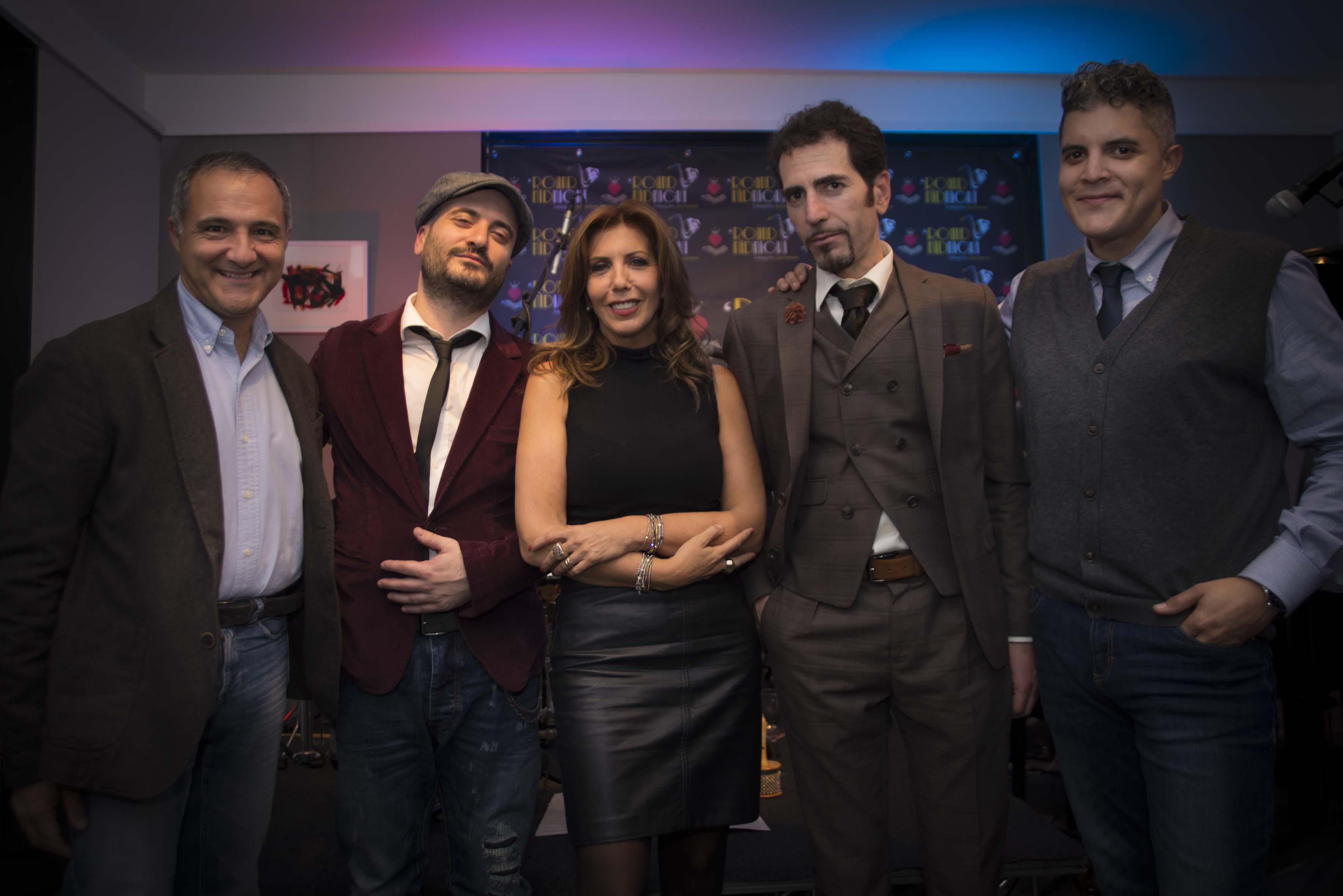 Max De Tomassi, Ginaski Wop, Tina Vannini, Alfonso Tramontana, Robertico Martinez