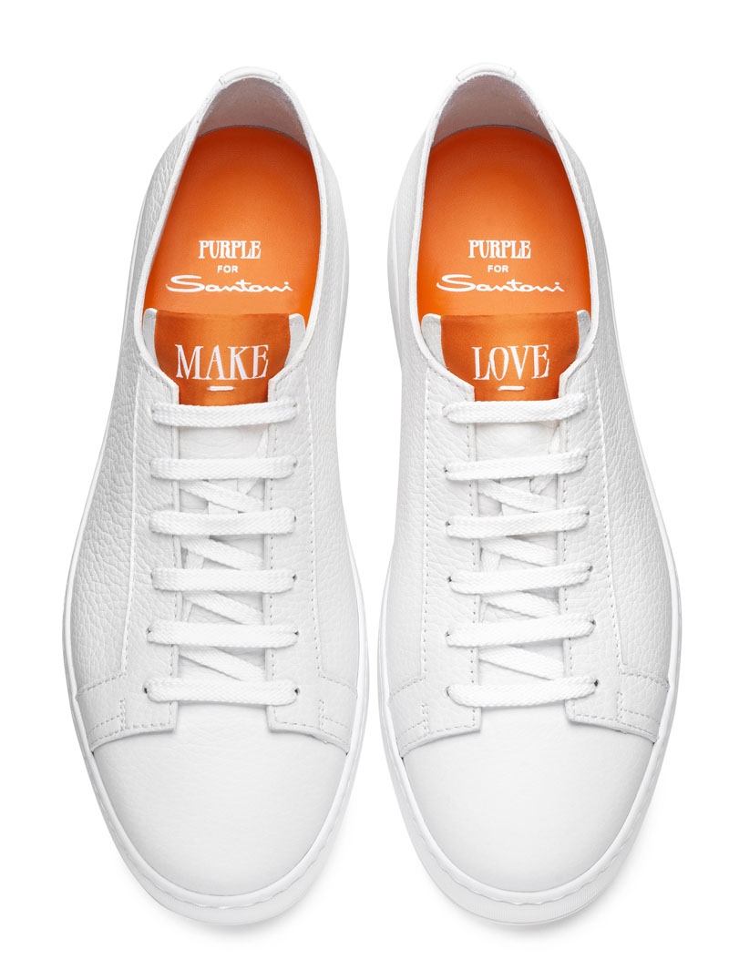 Dettagli artigianali per luxury sneaker