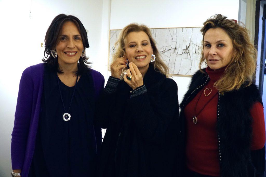 Simona Palmiero, Daniela Poggi e Roberta Cima
