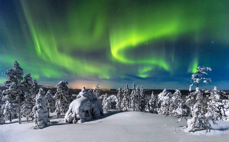 Finlandia: lo spettacolo dell'Aurora Boreale
