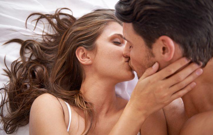 Un bacio di coppia