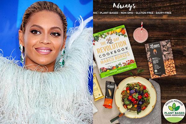 I cibi vegani di Beyonce