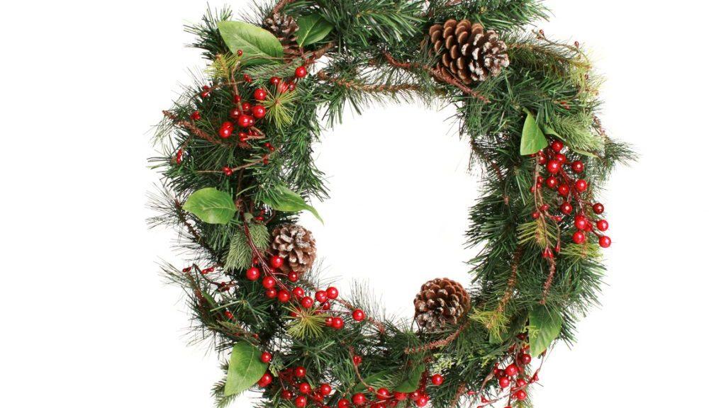 Ghirlande natalizie self made - Ghirlande per porte natalizie ...