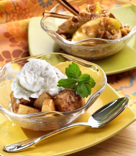 Mela cotta con gelato
