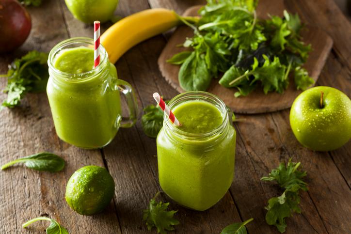 Smoothies verde Greenery