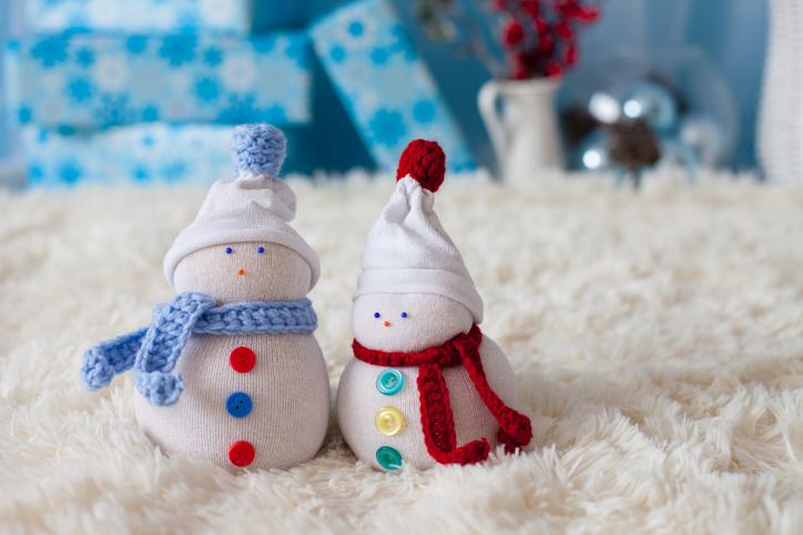 Pupazzo di neve (senza neve)  come farlo in casa - www.stile.it f99983cc599e
