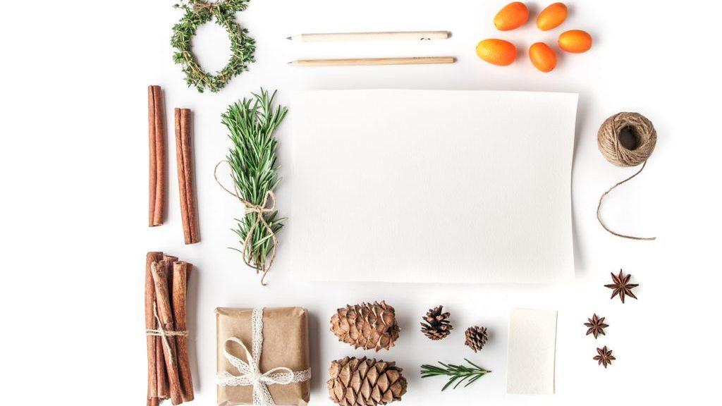 Addobbi natalizi originali e naturali