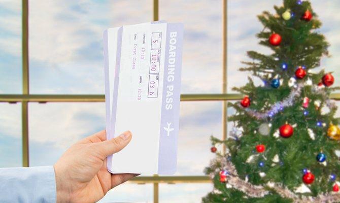Vacanze di Natale: le partenze dagli aeroporti