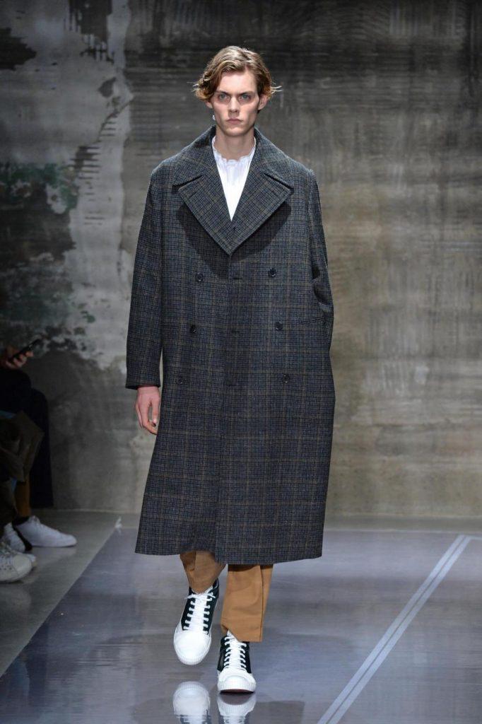 Sfilata Marmi, Milano Moda Uomo autunno inverno 2016 2017. Foto LaPresse